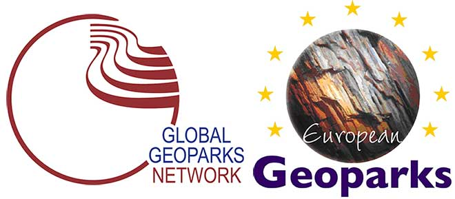 insignia de global geoparks networks - Los viajes de margalliver